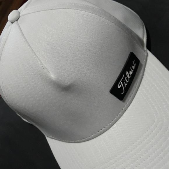 Titleist A Flex Fitted Golf Hat Pat No 6493880